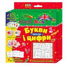 Комплект Magic Box. Буквы и цифры. English - Издательство УЛА - ISBN 4820206650818