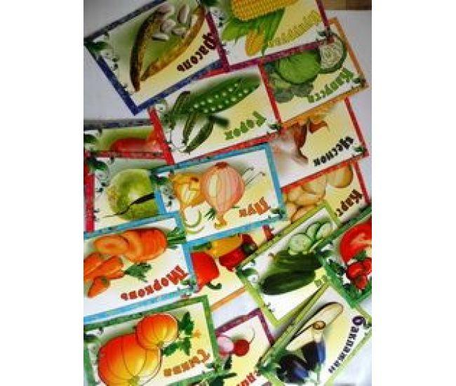 Набор карточек: Овощи