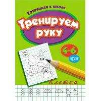 Готовимся к школе Торсинг Тренируем руку клетка 4-6 лет на русском языке