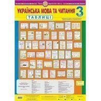 НУШ. Таблицы 3 класс. Украинский язык и чтение
