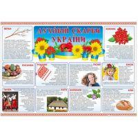 Плакат школьный: Духовные сокровища Украины