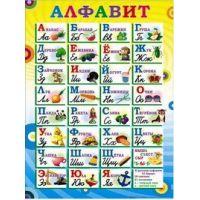Плакат школьный: Алфавит русский