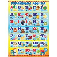 Украинская азбука. Плакат школьный