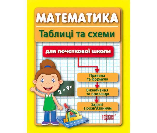 Таблицы и схемы для младшей школы Математика 1-4 класс (укр) - Издательство Торсинг - ISBN 9789669390165