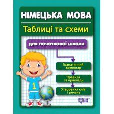 Таблицы и схемы для младшей школы - Немецкий язык - Издательство Торсинг - ISBN 978-617-030-166-6