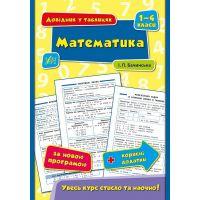 Справочник в таблицах УЛА Математика 1-4 класс