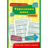 Справочник в таблицах УЛА Украинский язык 1-4 класс