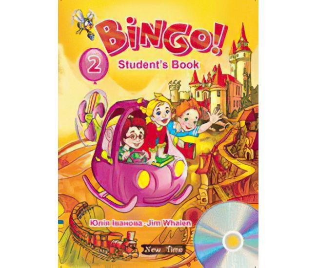 Учебник английского языка Bingo! Книга для ученика + CD Уровень 2 (укр) - Издательство Нью Тайм - ISBN 9789662654288