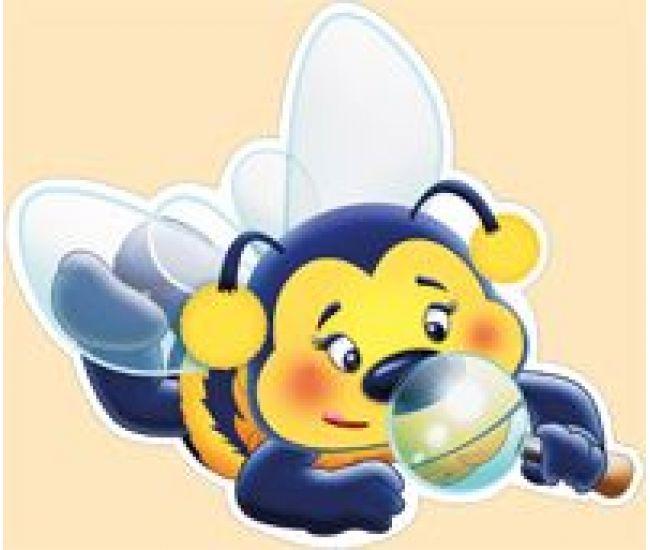 Набор оформительский на скотче Пчелки