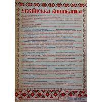 Украинская вышиванка. Набор для декора