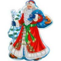 Украшение на скотче Дед Мороз