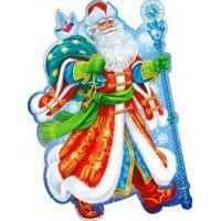Украшение на скотче Дедушка Мороз
