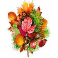 Украшение на скотче Осенняя композиция