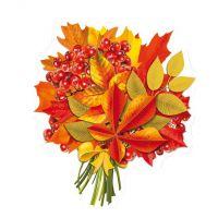 Декоративный элемент Осенний каштан