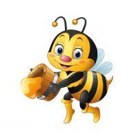 Декоративный элемент Пчелка 1