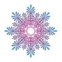 Декоративный элемент Снежинка новогодняя 020