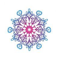 Декоративный элемент Снежинка новогодняя 021