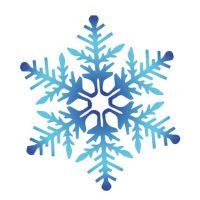 Декоративный элемент Снежинка новогодняя 023