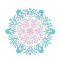 Декоративный элемент Снежинка новогодняя 024