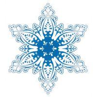 Декоративный элемент Снежинка новогодняя 026