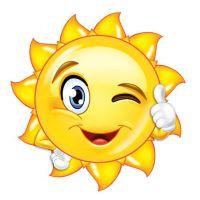Декоративный элемент Солнышко 1