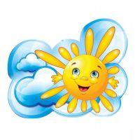 Декоративный элемент Солнышко