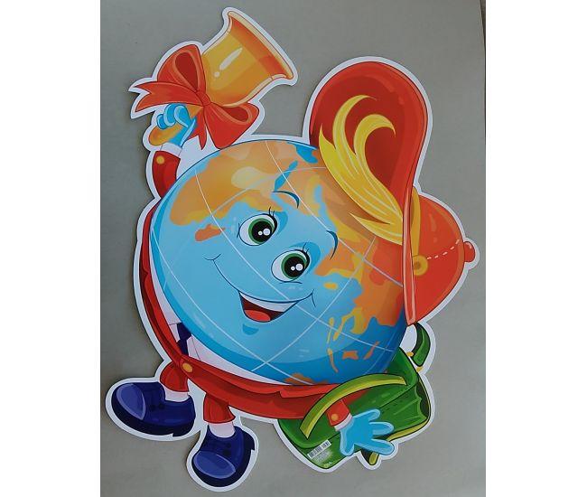 Фигурный детский плакат ПФ-57 - Издательство Этюд - ПФ-057