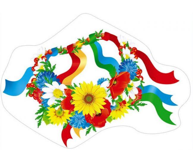 Фигурный детский плакат ПФ-59 - Издательство Свiт поздоровлень - ПФ-059