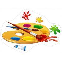 Фигурный детский плакат ПФ-7104
