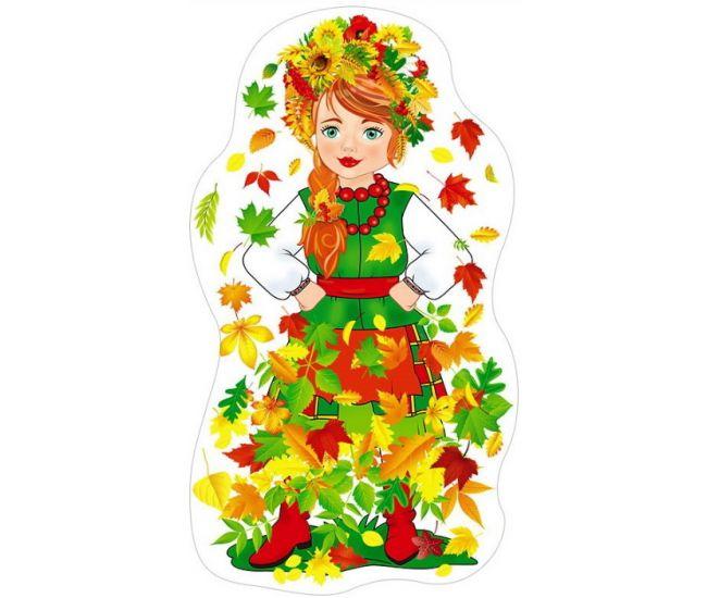 Фигурный детский плакат ПФ-7419 - Издательство Свiт поздоровлень - ПФ-7419