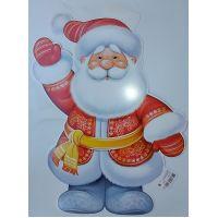 Фигурный плакат Дедушка Мороз