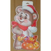 Фигурный плакат Мишка