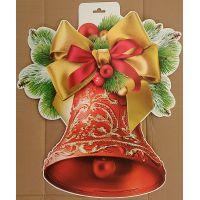 Фігурний плакат Новорічний дзвіночок