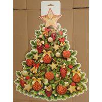 Фигурный плакат Новогодняя елка