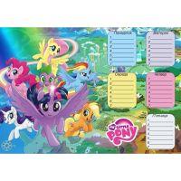Ламінований розклад уроків (My Little Pony)