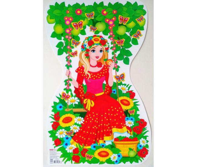 Фигурный детский плакат: Девушка-лето - Издательство Ранок - ISBN 123-КП2378