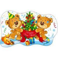 Новогодний детский плакат НГ006