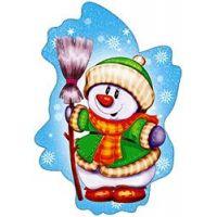 Новогодний детский плакат НГ24