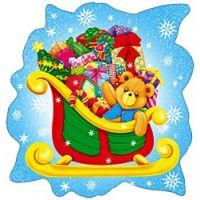 Новогодний детский плакат НГ25
