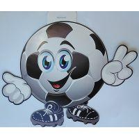 Плакат детский Футбольный мяч