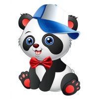 Плакат детский Панда