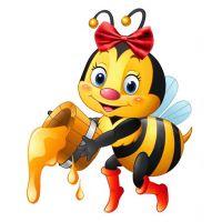 Плакат детский Пчелка