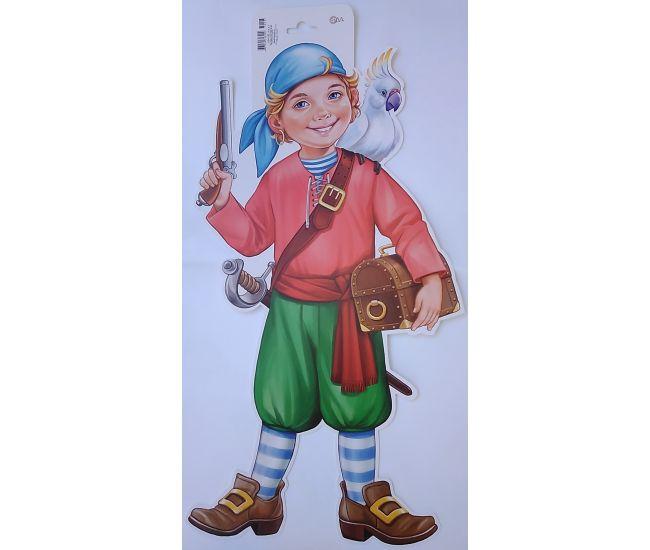 Плакат детский Пират - Издательство Свiт поздоровлень - ISBN ПФ-011