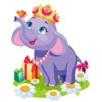 Плакат детский Слоненок