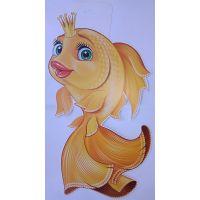 Плакат детский Золотая рыбка