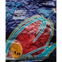 Повітряні кульки 16 см. Серця червоні (пастель)