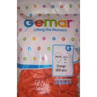 """Воздушные шары GEMAR G90 10""""/26 см пастель (оранжевый)"""