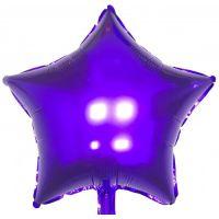 Шар фольгированный: Звезда фиолетовая