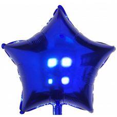 Шар фольгированный звезда синий - Издательство Gemar Balloons - ШЗB