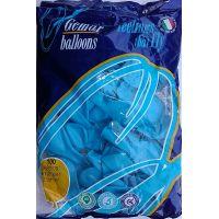 """Воздушные шары GEMAR A80 8""""/21 см пастель (голубой)"""